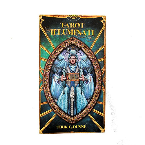 Tarot Illuminati - The Light Within par Erik C Dunne, 78 Cartes avec Instructions Multilingues