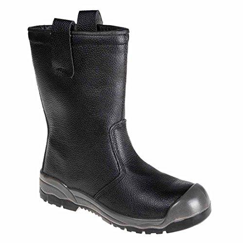 SUW–Steelite Rigger Workwear Boot S1P CI (mit Überkappe), EU 46 - UK 11, schwarz, 1 schwarz