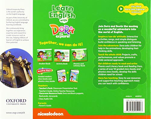 Learn English with Dora the Explorer 3. Class Book (Learn with Dora the Explorer)