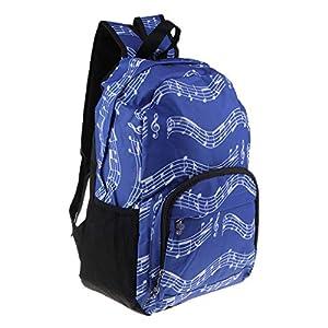 Mochila De Viaje Deportivo Senderismo Escuela Mochila Con Bolsa De Malla De La Caldera – Azul, tal como se describe