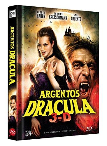 Dracula 3D (Dario Argento) - Limited Mediabook Edition Cover B (Collectors Edition) - DVD - blu-ray