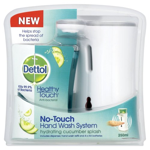 Price comparison product image Dettol No-Touch Hand Wash System - 250 ml, Cucumber Splash