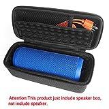 Per JBL Flip 3custodia protettiva, altoparlante wireless Bluetooth portatile di storage box- Travel hard EVA antiurto borsa-Fits cavo USB