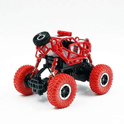PETRLOY Fernbedienung Offroad Erwachsene und Kinder 2,4 GHz Elektronische Offroad-Spielzeug 4WD Dual-Motoren Buggy Fahrzeug RC Crawler Spielzeugauto für Jungen 1:14 Racing WD Rallye Rock Grün und Rot - Rallye Räder Racing
