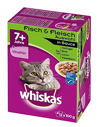 whiskas-7-katzenfutter-fisch-und-fleischauswahl-in-sauce-48-beutel-4-x-12-x-100-g