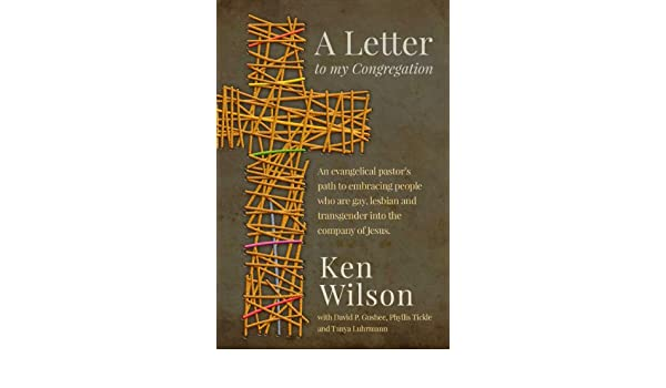 A Letter to My Congregation: An evangelical pastor\'s path to ...