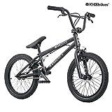 KHE BMX Fahrrad Arsenic 18 Zoll schwarz patentierter Affix 360° Rotor nur 10,1kg!