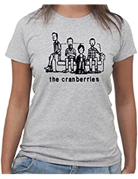 T-Shirt THE CRANBERRIES CARICATURA MANGA - by New Indastria