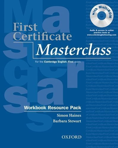 First Certificate Masterclass Workbook with out Answer key by Simon Haines (2009-01-30)