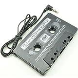 Deet® Coche Radio Cassette   3.5mm Jack Socket/aux   adaptador de cassette/cinta de audio   adaptador de audio para iPod, iPhone, Reproductor de CD, MP3, CD, MD o DAT, teléfono móvil, smartphone, tableta