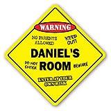 Home Decor Daniel 's Room Schild Kids Schlafzimmer Decor Tür Kinder Namen Junge Mädchen Geschenk Metall Zeichen für Outdoor Yard Sicherheit Schild Aluminium Schilder
