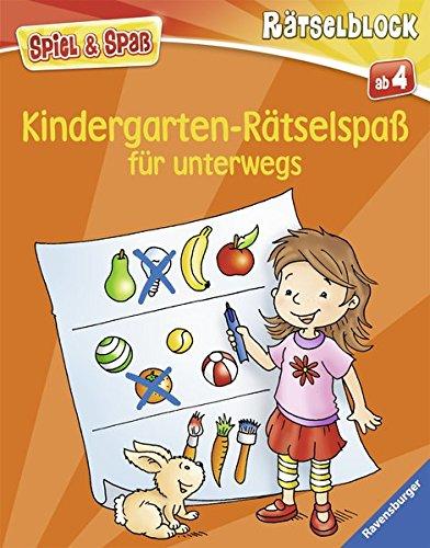 Kinder Reise-spiele, (Kindergarten-Rätselspaß für unterwegs (Spiel & Spaß - Rätselblock))