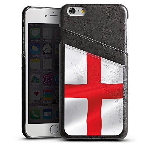 Apple iPhone 4 Housse Étui Silicone Coque Protection Angleterre Drapeau Drapeau Étui en cuir gris