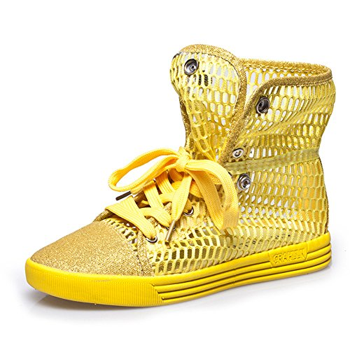Do.BOMRVII , chaussures compensées femme yellow
