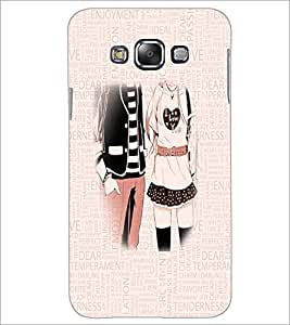 PrintDhaba Couple D-3199 Back Case Cover for SAMSUNG GALAXY A7 (Multi-Coloured)