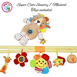 Baby Activity Musical Play Gym Sensory Floor Mat by Babyhugs from Babyhugs