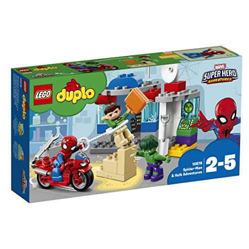 LEGO DUPLO Super Heroes - Lego Spider-Man And Hulk Adventures (10876)
