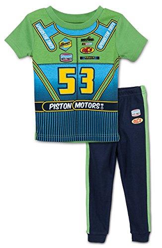nascar-ensemble-de-pyjama-bebe-garcon-0-a-24-mois-vert-vert