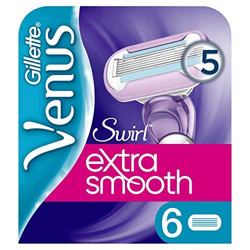 Venus Extra Smooth Swirl Ersatzklingen x6