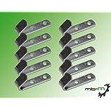 mb-m 20 stuks zeilhaken langwerpig, bevestigingshaken, spanhaken