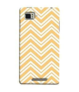 Snapdilla Designer Back Case Cover for Lenovo Vibe Z K910 (Cloth Material Illustration Wallpaper Background Decoration Geometric)