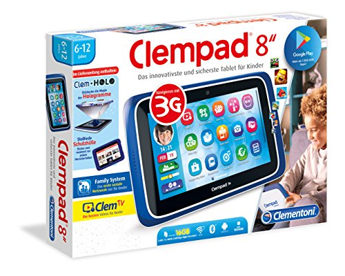 Clempad 59056.8 Kinder Tablet, 8 Zoll