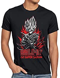 style3 Push your Limit Herren T-Shirt roshi ball z roshi songoku dragon
