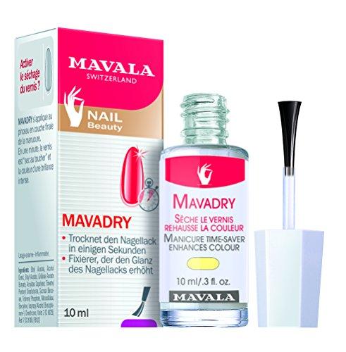 Mavala Mavadry, per smalti ad asciugatura rapida,, asciuga il smalto e intensificare il colore, 10ml