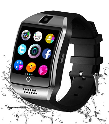 Smartwatch, Bluetooth Smart Watch Android ios Orologio Intelligente con Camera SIM TF Card Slot Facebook WhatsAPP Sport Watch Pedometro Wrist Watch Telefono Watch per Uomo Donna Bambini
