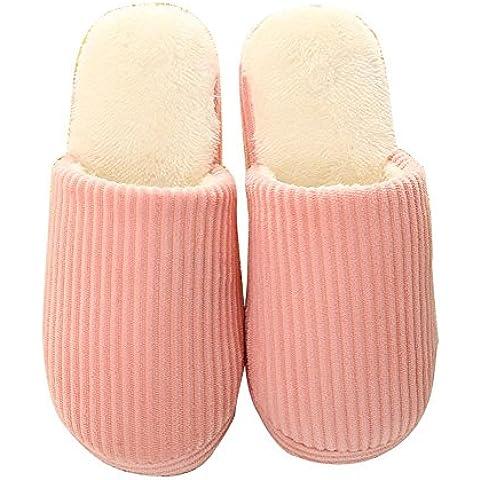 ALUK-versione coreana del semplice coppia inverno pantofole di casa anti-skid