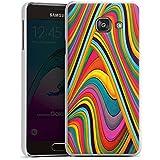 Samsung Galaxy A3 (2016) Housse Étui Protection Coque Couleurs Bandes Arc-en-ciel