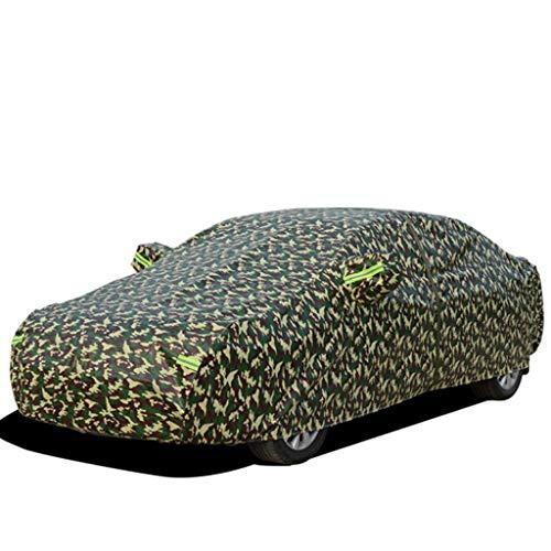 Couverture de voiture Convient pour Housse de protection solaire étanche BMW Série 5 / Série 7 / Série 3/1 Série / 2 / Série 4 X1 / X3 / X4 / X5 / X6 ( Couleur : Camouflage , taille : X3 )