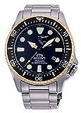 Orient Diver da 200m orologio meccanico automatico riserva di carica sport 2tonalità oro EL0003B