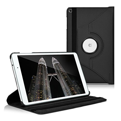 huawei tablet t2 10 pro kwmobile Huawei MediaPad T2 10.0 PRO Cover - Custodia per Tablet Rotazione 360° Stand Similpelle - Protezione per Huawei MediaPad T2 10.0 PRO