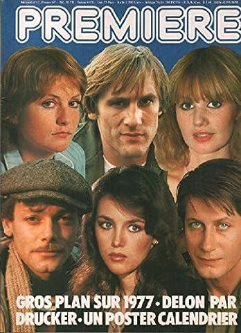 Revue cinéma première n° 12 / gros plan sur 1977, delon par drucker