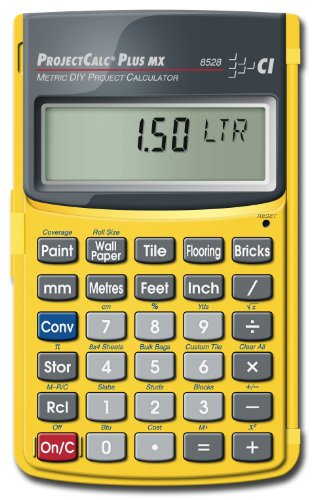 Calculated Industries Inc Project Calculator Plus MX, 8528 (Imperial Brick)