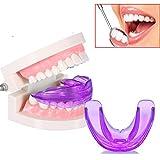 Mofun® Brand New Dental Mouth Guard Bruxism Splint Night Teeth Tooth Grinding TMJ Sleep Aid---Purple