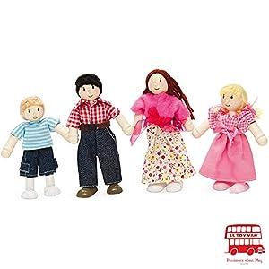 Daisylane - Set de Figuras de Familia (4 Unidades)