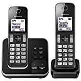 Panasonic KX-TGD322EB Cordless Home Phone with Nuisance Call Blocker and Digital Answering Machine