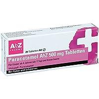 Paracetamol AbZ 500mg 20 stk preisvergleich bei billige-tabletten.eu