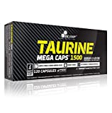 Muskelaufbaumittel - Olimp Taurin Mega Caps 120 Kapseln, 1er Pack (1 x 202,8 g)