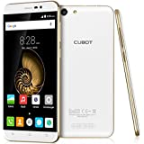 CUBOT Note S 4150mAh HD 720P 2GB 16GB IPS 5,5 Zoll Handy Ohne Vertrag 4 Core Android 5,1 3G Smartphone 5 MP+8MP Kamera Dual Sim 1.3GHZ - Weiß