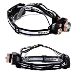 Best Backpacking Headlamps - SLB Works 20000LM High Power 5 LED Headlamps Review