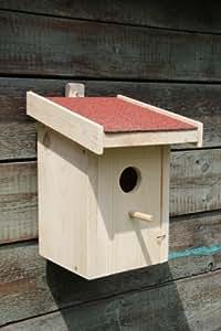 dekorativer nistkasten n5 bausatz mit vogelfutterhaus. Black Bedroom Furniture Sets. Home Design Ideas