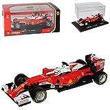 Ferrari SF16-H Sebastian Vettel Nr 5 Formel 1 2016 1/32 Bburago Modell Auto