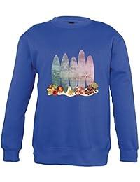 Supportershop Sweat Shirt Bleu Royal Surf Enfant