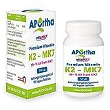 Premium Natto Vitamin K2 - MK7 - VitaMK7® - 100 µg - 120 vegane Tabletten - 99+ % All Trans Menaquinone 7 (MK7)