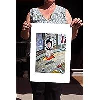 Kunstdruck / Giclée-Druck auf FineArt Papier: