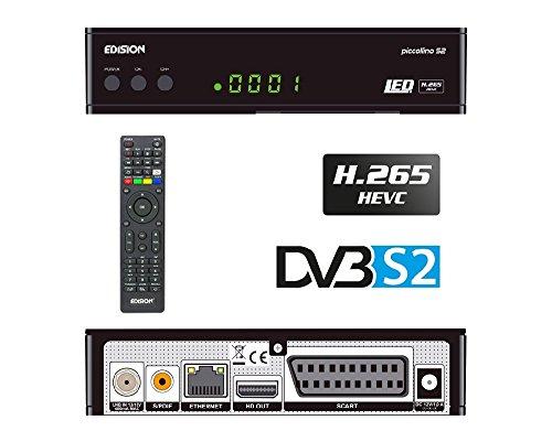 Edision piccol Lino DVB-S2Full HD Receptor de Satélite H.265/hevc Tarjeta...