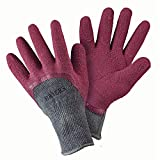 Briers Warm All Seasons Gardener Gloves, Claret, Medium